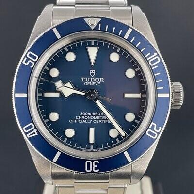 Tudor Black Bay Fifty-Eight Navy Blue Dial & Bezel Steel Watch 39MM Unworn B&P 2021