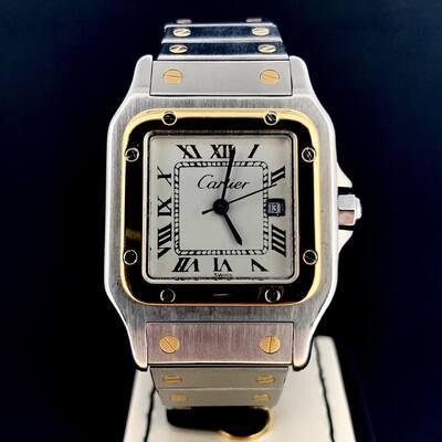 Cartier Santos Automatic Gold/Steel