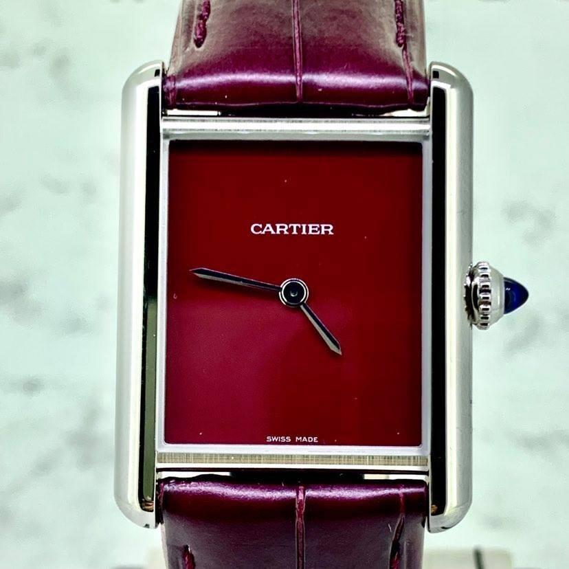 Cartier Tank Must De 2021 Full Set