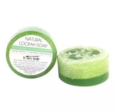 Eucalyptus Peppermint | Exfoliating Luffah Soap