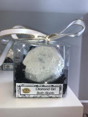 Mini Diamond Bath Bomb