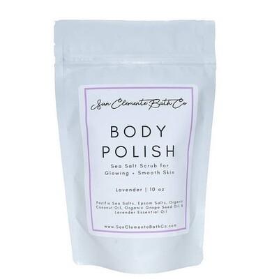 Lavender Sea Salt Scrub Body Polish