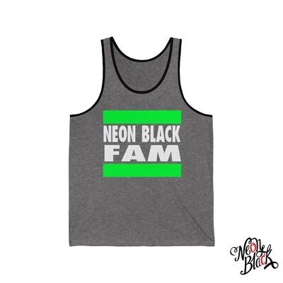 Neon Black Fam Tank Top