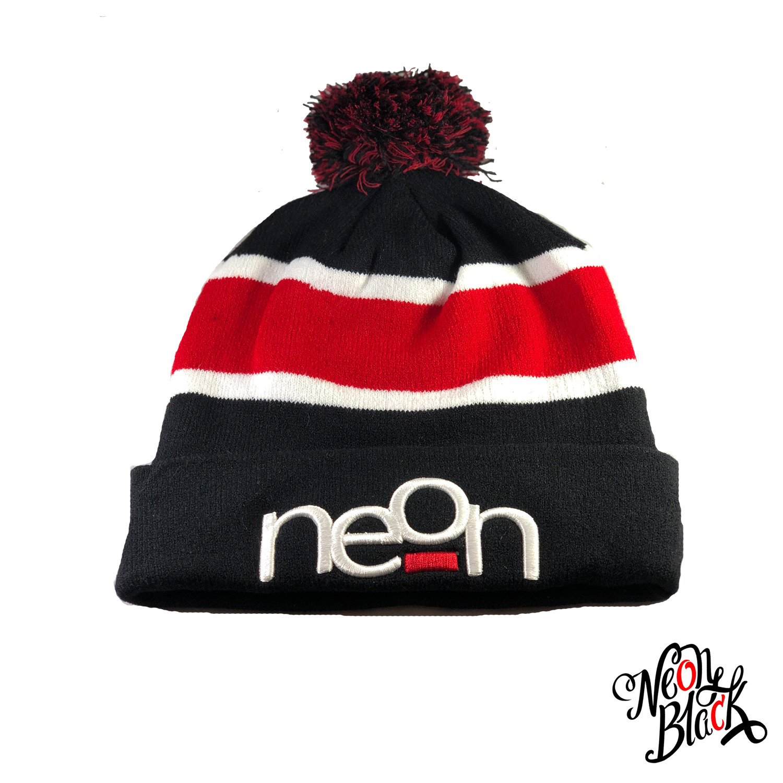 Red & Black Pom