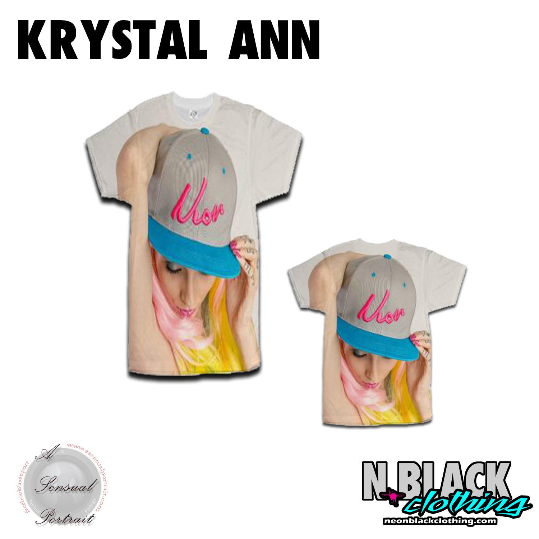 Krystal 90's Classic SnapBack - A Sensual Portrait Collaboration