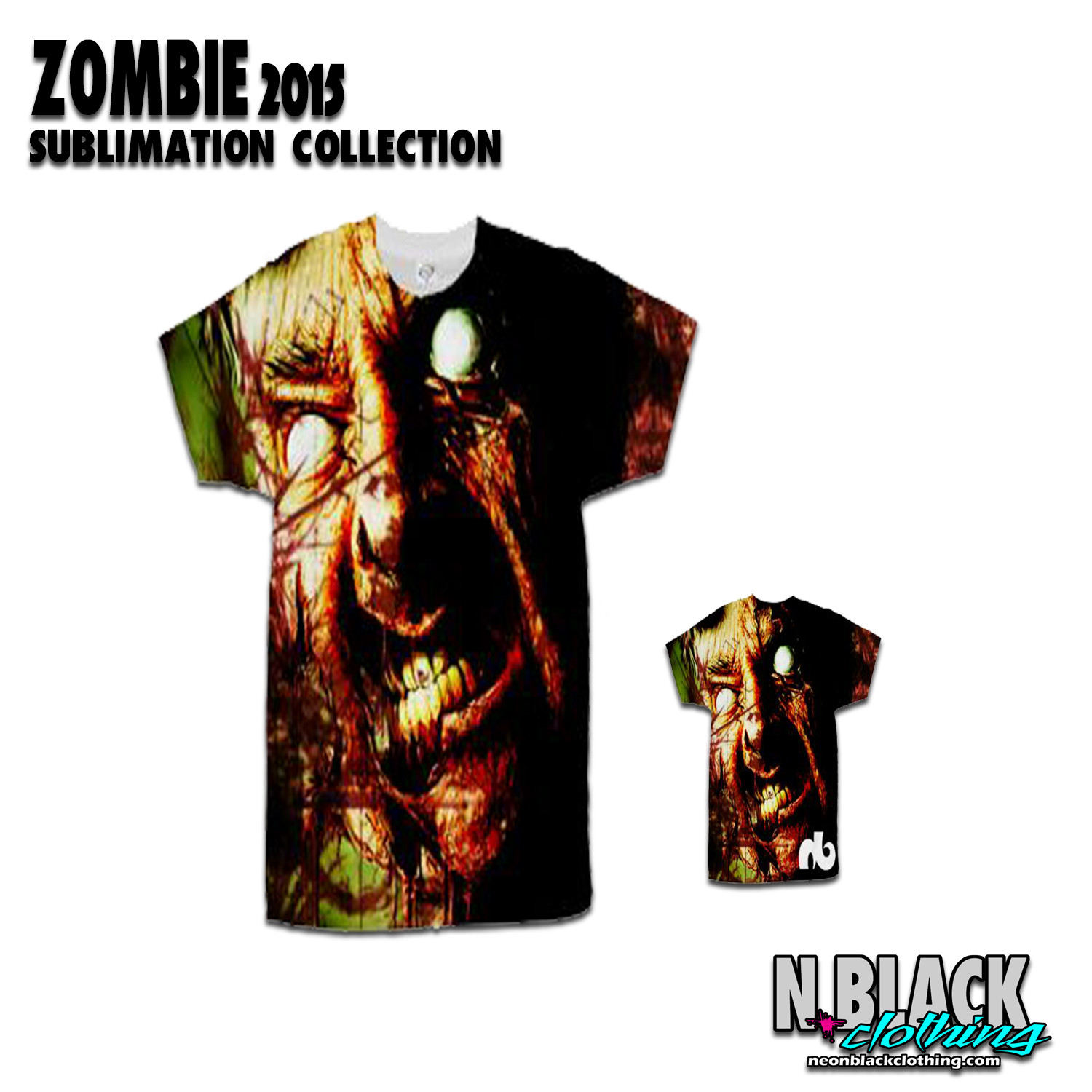 Zombie 2015 - Sublimation Collection #1.5