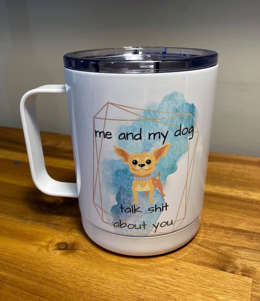 Insulated Coffee Mug 11pz