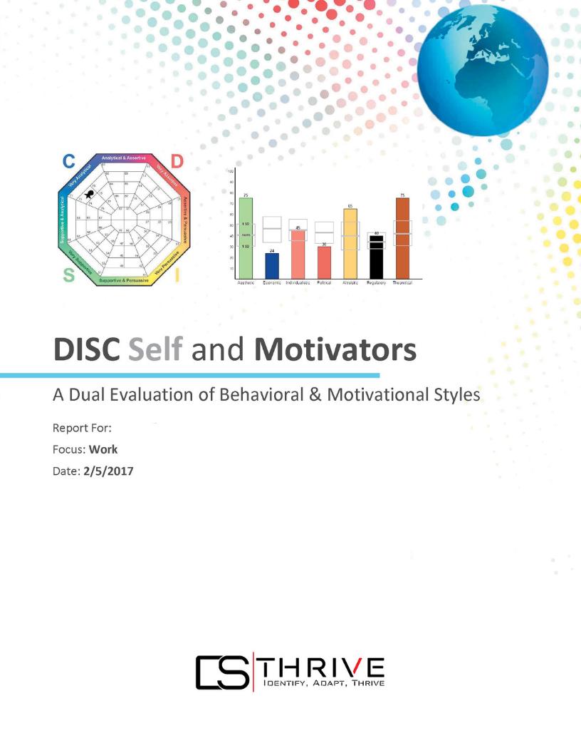 DISC Assessments + Motivators