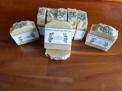 Oatmeal Lavender Soap 3oz