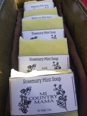 Rosemary Mint Soap 1oz