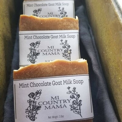 Mint Chocolate Soap 1oz