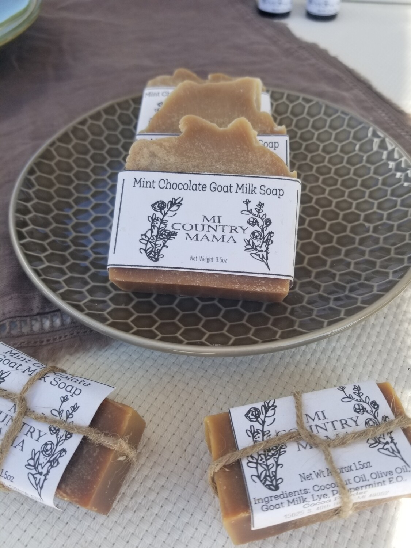 Mint Chocolate Soap 3oz