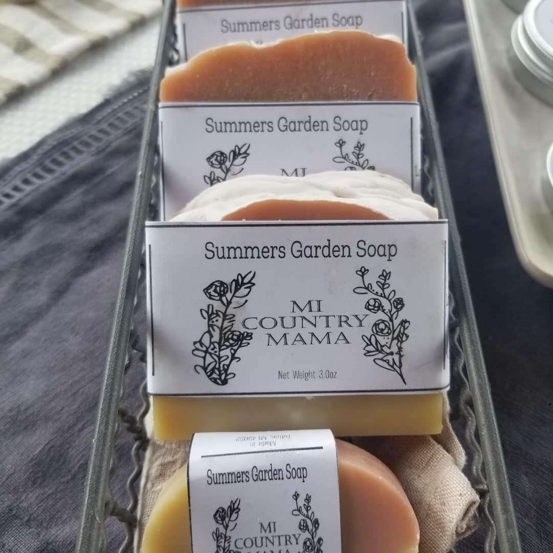 Summers Garden Soap 1oz