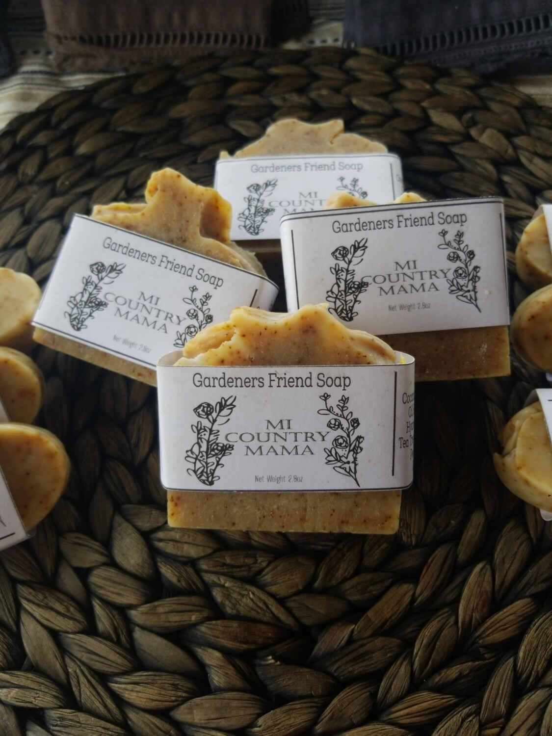 Gardeners Friend Soap 3oz