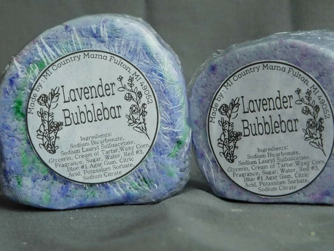 Lavender Bubble Bar 3oz