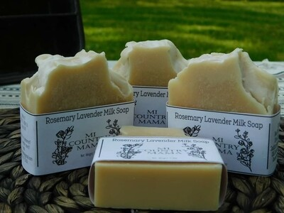 Rosemary Lavender Soap 3oz