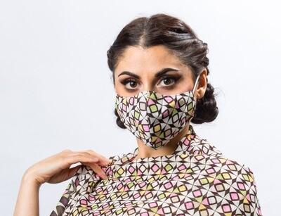 Mask for Star Burst scarf