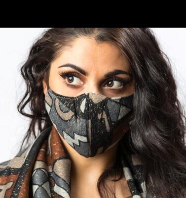 Mask for Aztek scarf