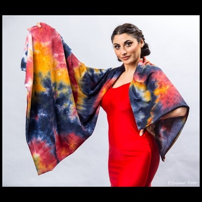 """Tie Dye Scarf """"To die for"""""""