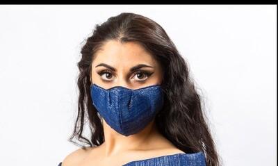 Mask for Blue Linen