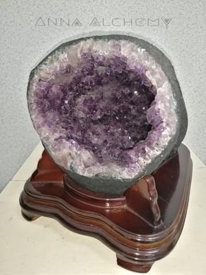 巴西紫水晶洞 Brazil Amethyst Geode