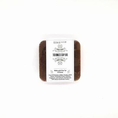 超光速粒子松焦油皂  Tachyonized Pine Tar Soap Bar