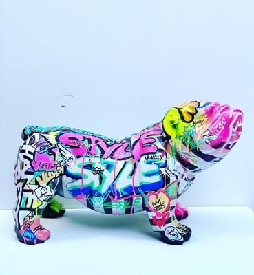 Dog MOOD 2 - Figuren 60x40 Unique Art VLADI