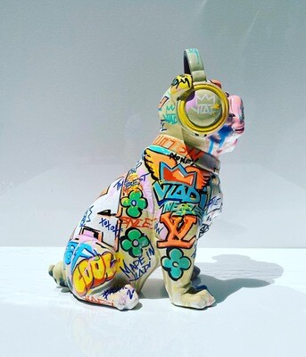 Flowers City Dog- 33cm Art VLADI