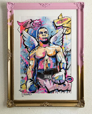 Iron MIKE - Masterpiece 79x58 cm Art VLADi