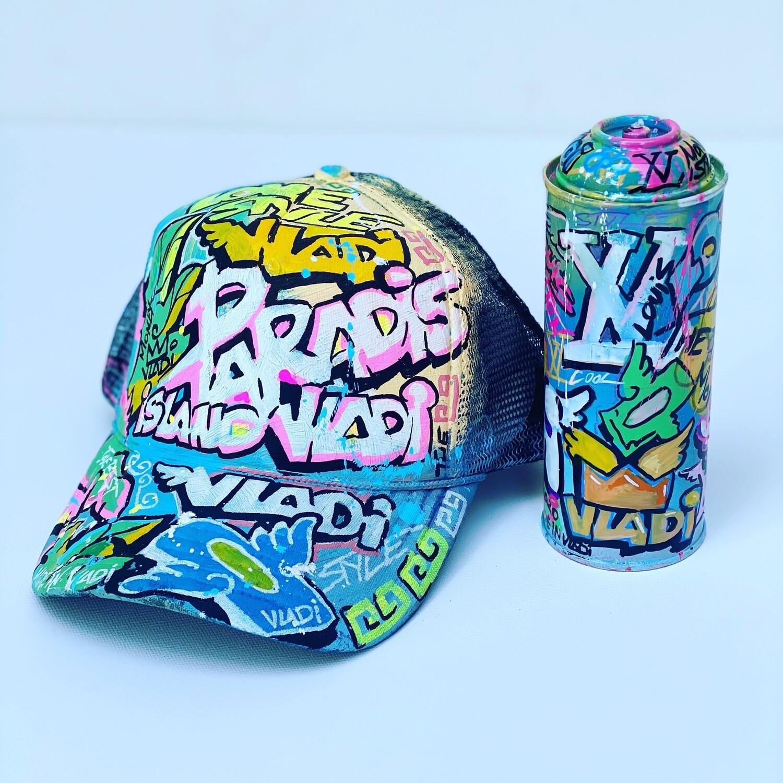PARADISE -Hat + Spray - Art VLADi Original