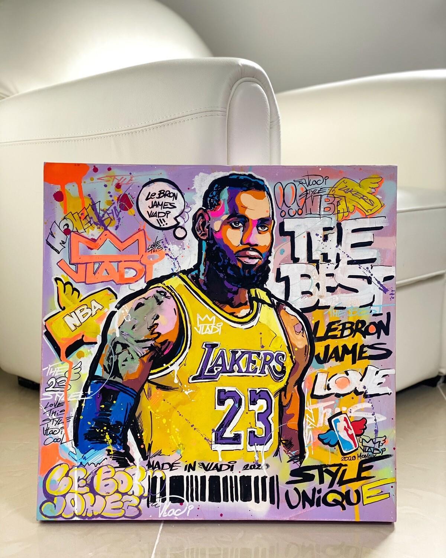 Stars Basketball- Masterpiece 50x50 cm Art VLADi