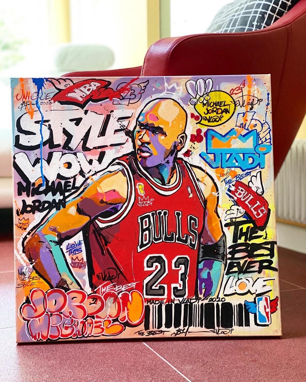 Stars Basketball - Masterpiece 50x50 cm Art VLADi