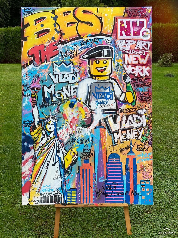 NEW YORK CITY - Masterpiece 150x100x3 cm Art VLADi Original