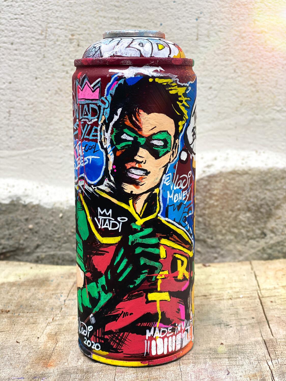ROBIN Spray-18 cm Made In Art VLADi