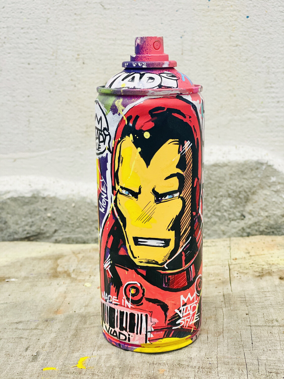 IRON MAN -Spray-18 cm Made In Art VLADi