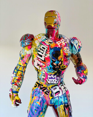 IRON Money - Figuren 220x120 Cm Art VLADi