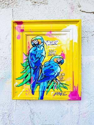 LOVE 1 - Original Art VLADI - Masterpiece 39 X 33 x 3 cm