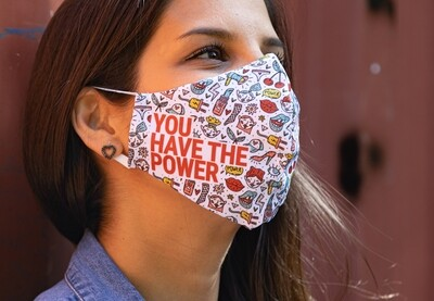 YOU HAVE THE POWER Collective Mask