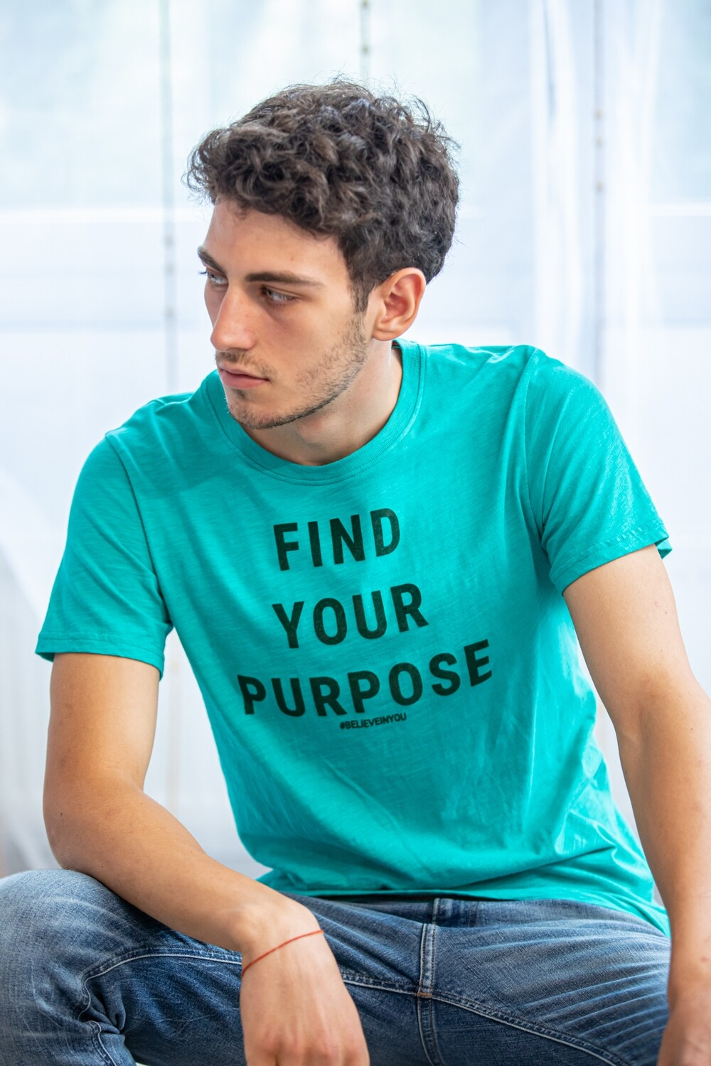 Find your purpose Organic T-shirt