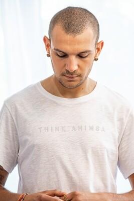 Think Ahimsa Organic T-shirt