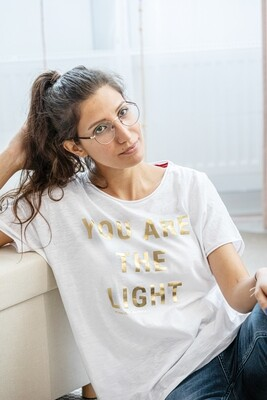 You are the light Organic T-shirt