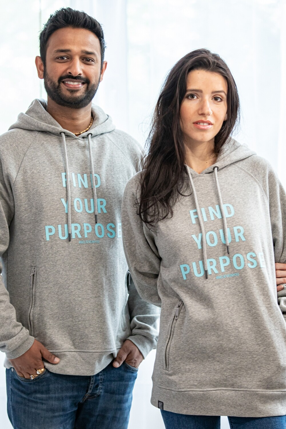 Find Your Purpose Organic Hoodie