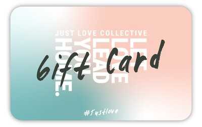 JLC JUST LOVE Gift card