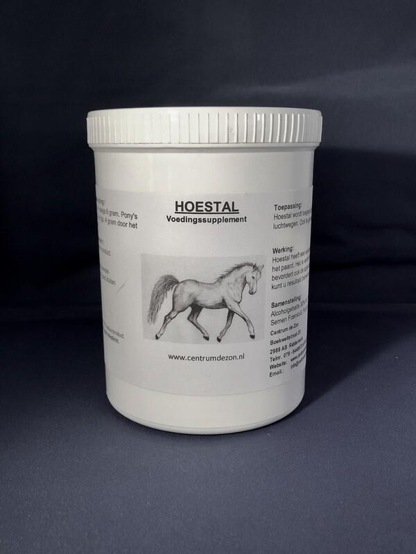 HOESTAL - Verhoogt immuunsysteem en verhelpt het hoesten.