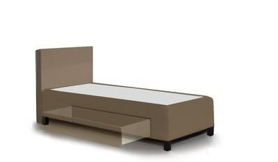 CLEVERBOX-FIX rugalmas alátámasztású fiókos ágyneműtartós boxspring ágy