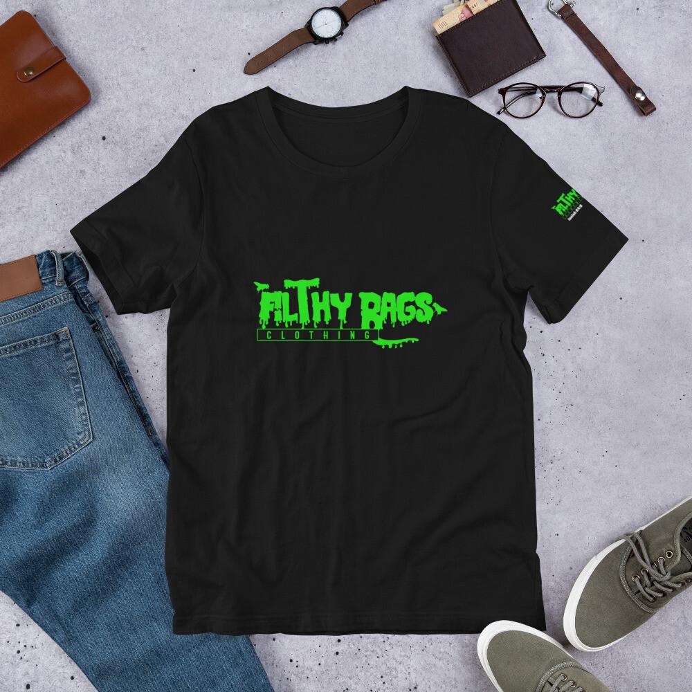 FILTHY RAGS /Green/ T-Shirt