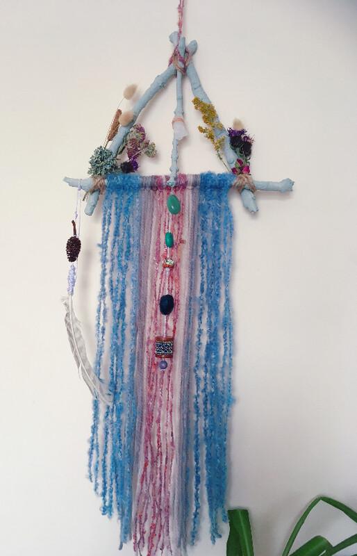 Crystal wall hanging