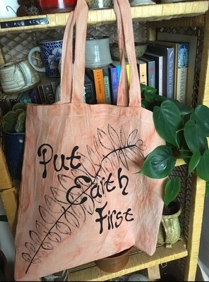 Put Earth First Eco Tote