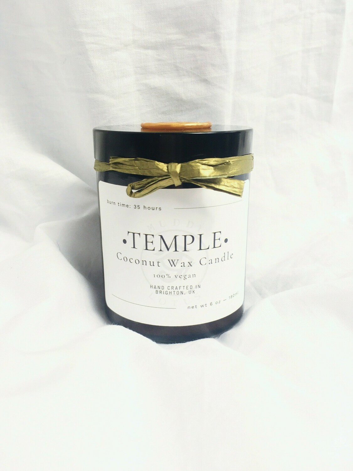 Temple Coconut Wax Vegan Candle
