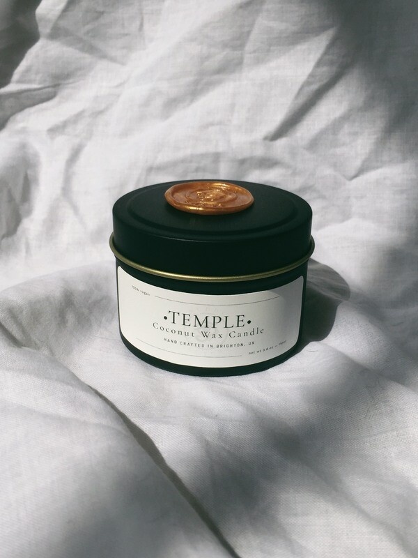 Temple Tin Candle